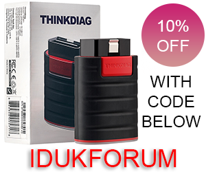 ThinkDiag 10% Discount Code IDUKFORUM
